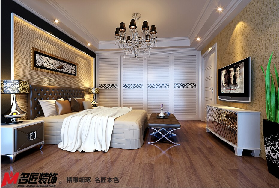 名匠中式阳台吊顶装修案例图片